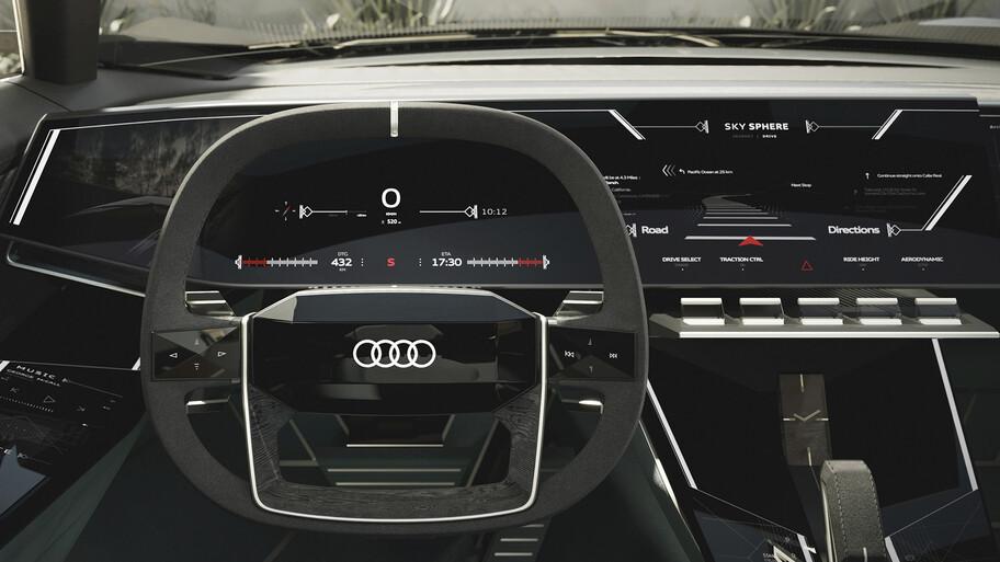 Audi Skysphere Concept se presenta en Malibú, California