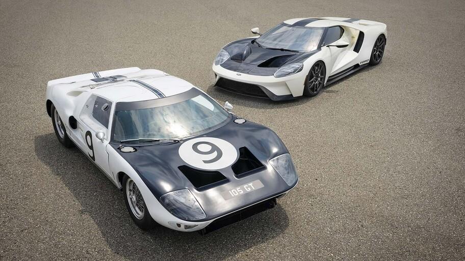 Ford GT Heritage 2022, despedida que rinde tributo a los prototipos originales del GT40