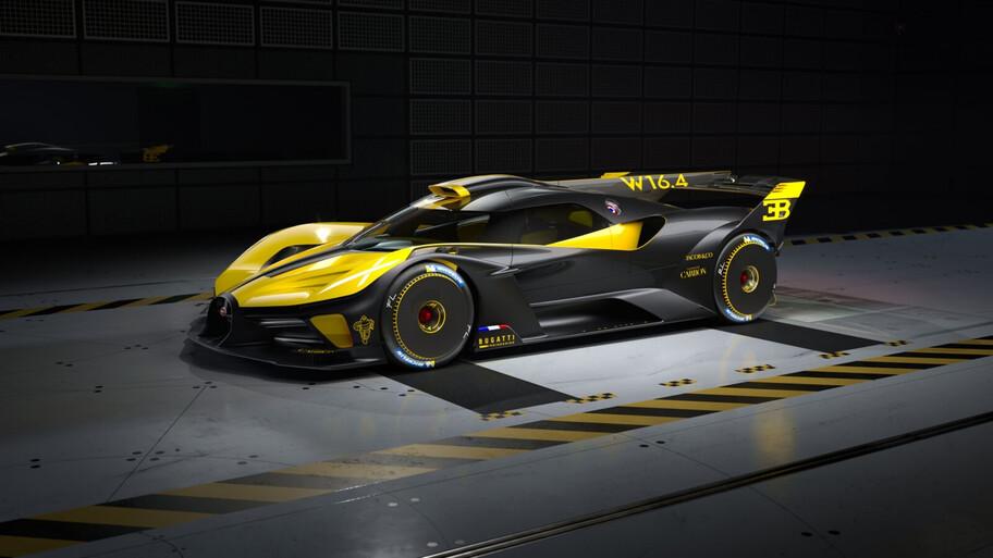 Bugatti Bolide, el auto de competición más hermoso y exclusivo llegará a producción en 2024