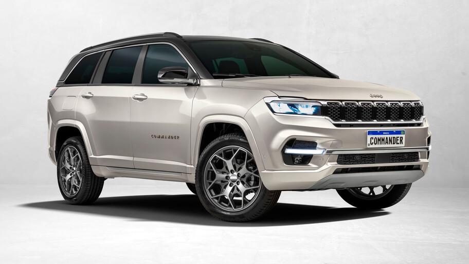 Jeep Commander, la SUV compacta de 3 filas que sería rival de Tiguan