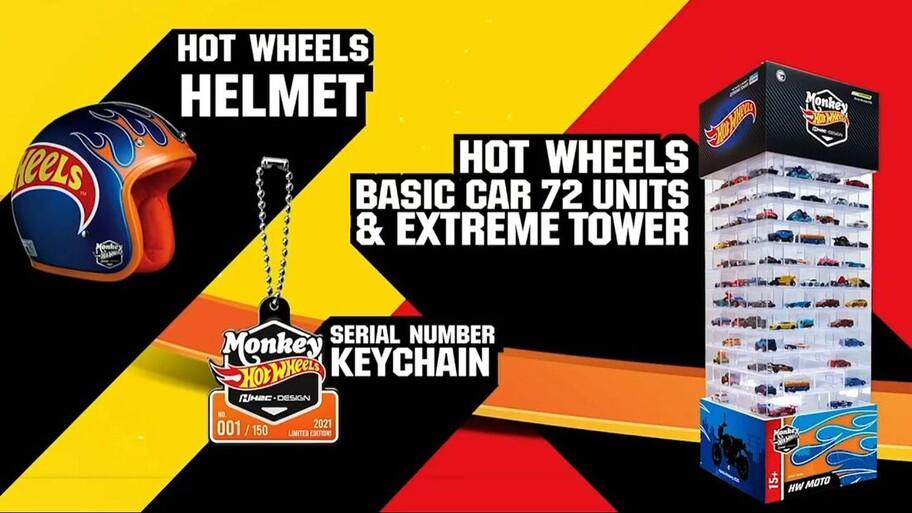 Honda Monkey Hot Wheels, una moto de edición especial que nos gustaría en México