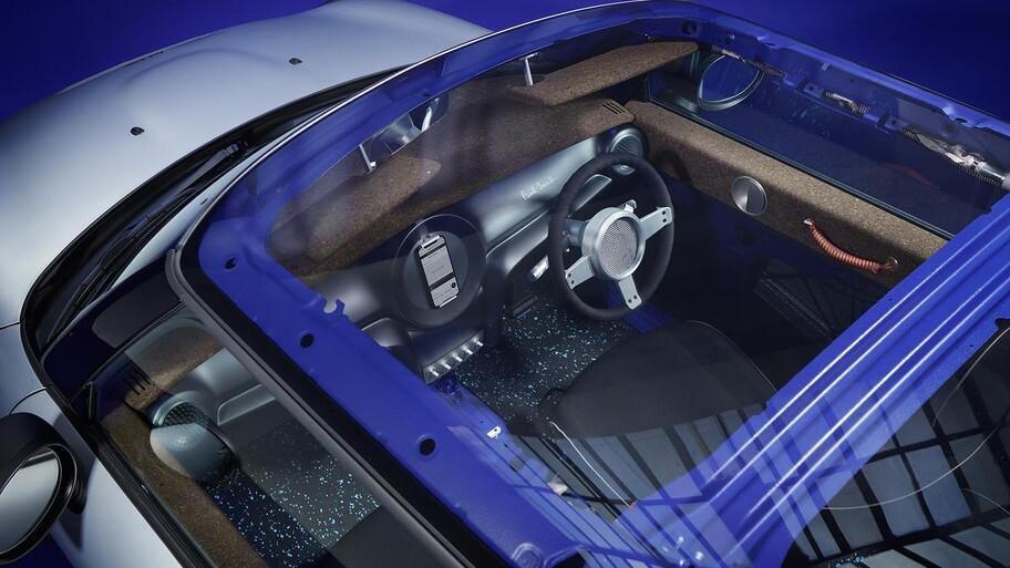 MINI STRIP, un auto minimalista y sustentable creado por Paul Smith
