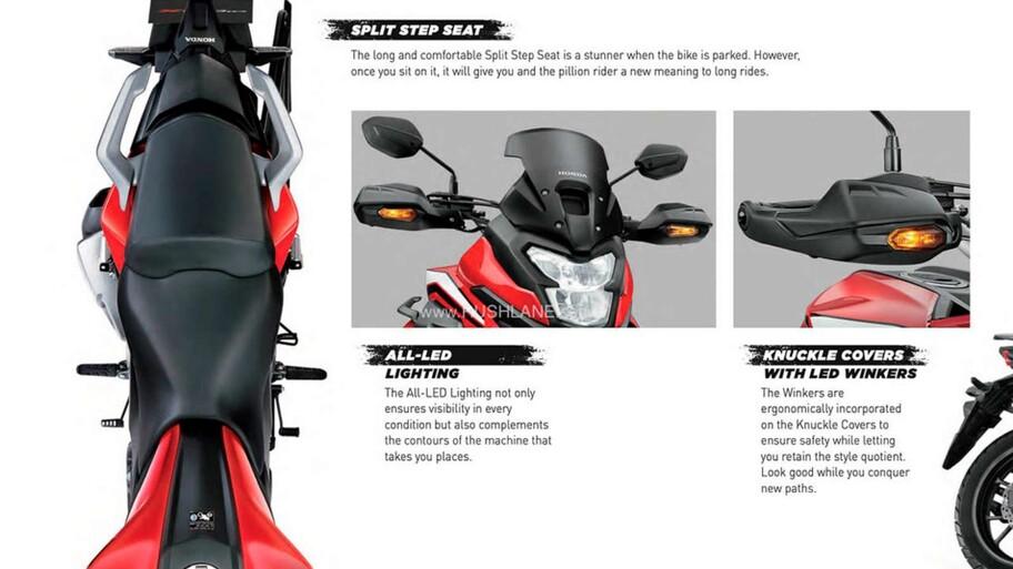 Honda CB200X, la pequeña aventurera que hacía falta
