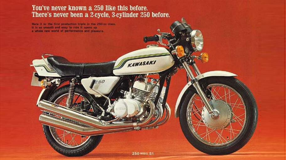 48 cilindros en una Kawasaki, sí es posible