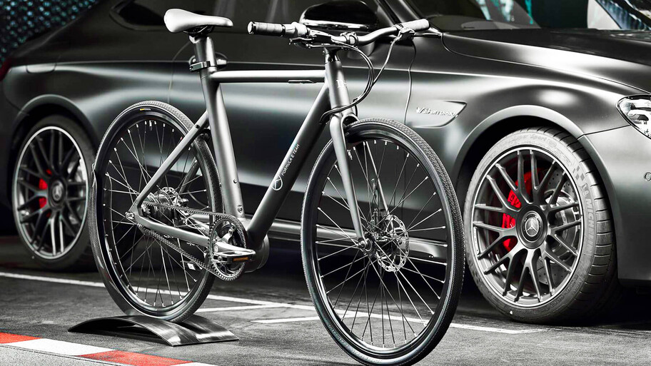 EQ Formula E Team City Racer, la e-bike de acceso de Mercedes-Benz