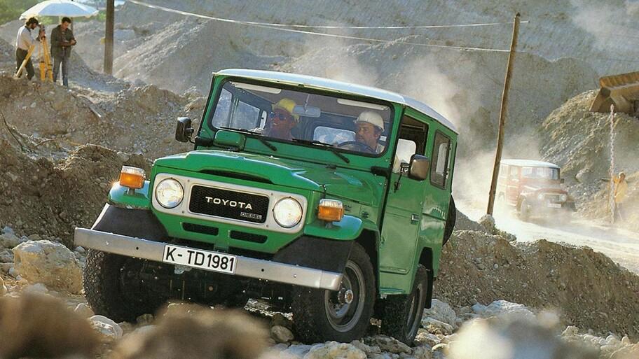 El Toyota Land Cruiser se suma al programa GR Heritage Parts de Gazoo Racing