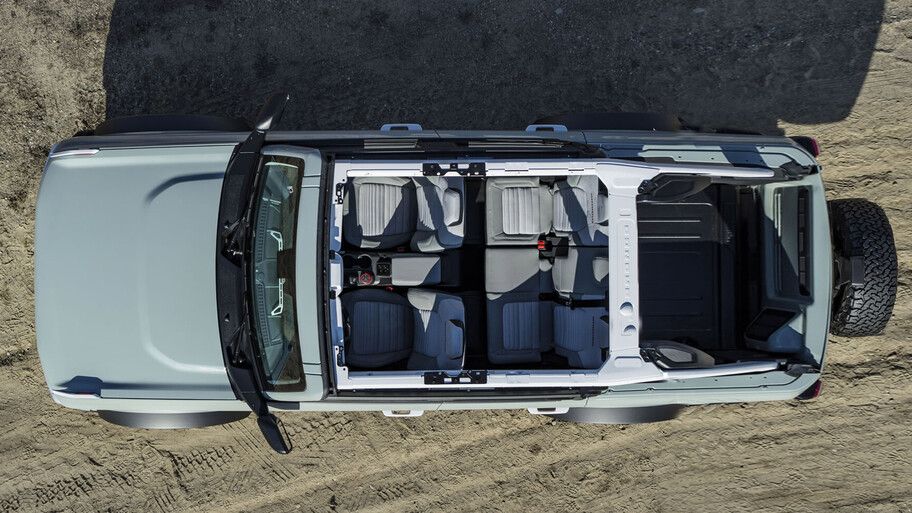 Ford Bronco pickup, una variante más para la renovada la todo terreno