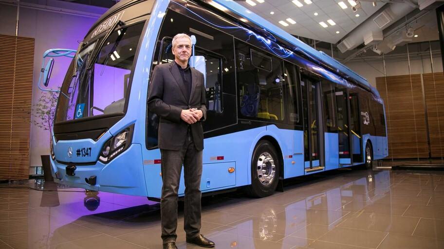 Mercedes-Benz presenta su primer autobús eléctrico para América Latina