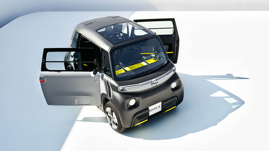 Opel Rocks-e 2022, así es el hermano alemán del Citroën Ami