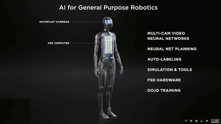 Tesla Bot, la tecnología de los autos llevada al primer humanoide de la marca