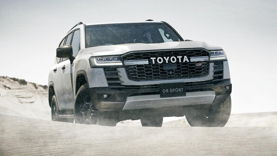 Toyota Land Cruiser 300 GR Sport 2022, un 4x4 más agresivo y deportivo