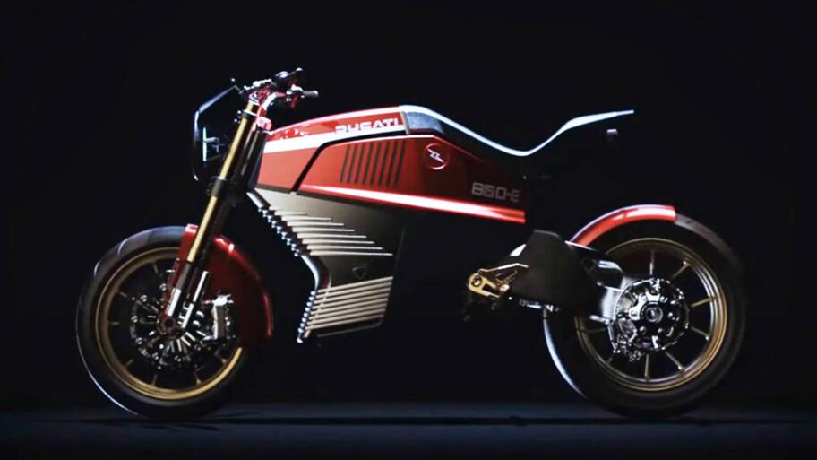 Una Ducati eléctrica, imagínate que se hiciera realidad