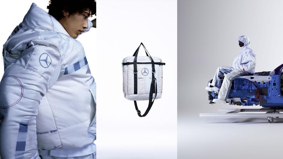 Mercedes-Benz crea una colección de ropa para celebrar 50 años de las bolsas de aire