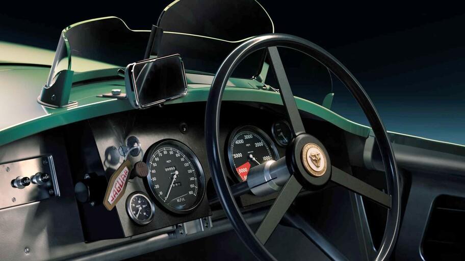 Jaguar fabricará reproducciones exactas del mítico C-Type que ganó en Le Mans
