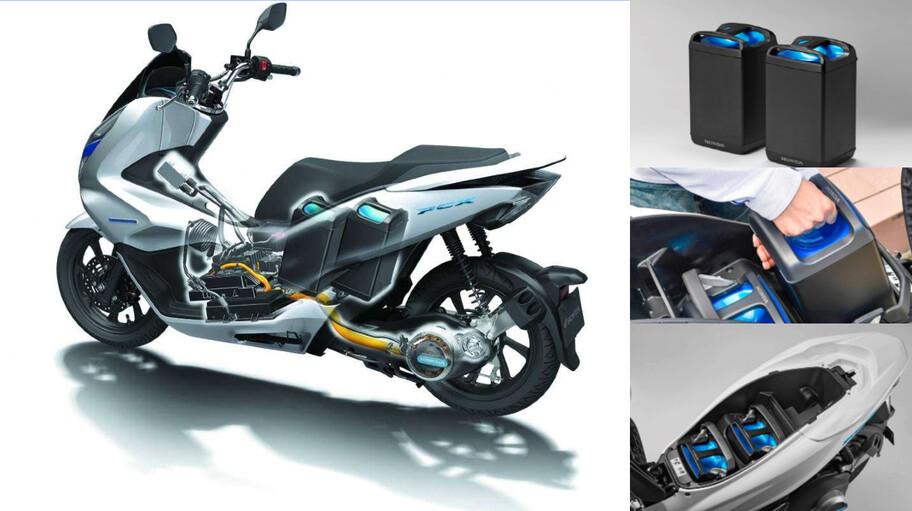 Honda, Yamaha, Piaggio y KTM fabricarán motos eléctricas con baterías intercambiables