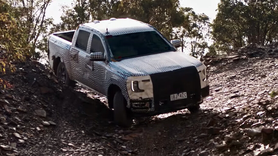 La nueva Ranger de Ford llegará en 2022 y ya la vemos en acción