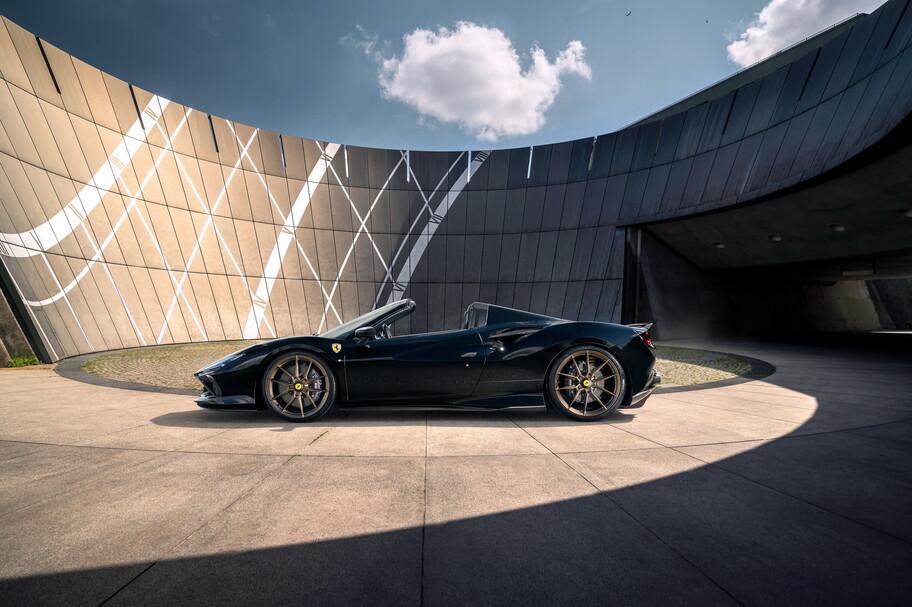 Ferrari F8 Spider por Novitec: más de 800 hp y 340 km por hora de velocidad de máxima