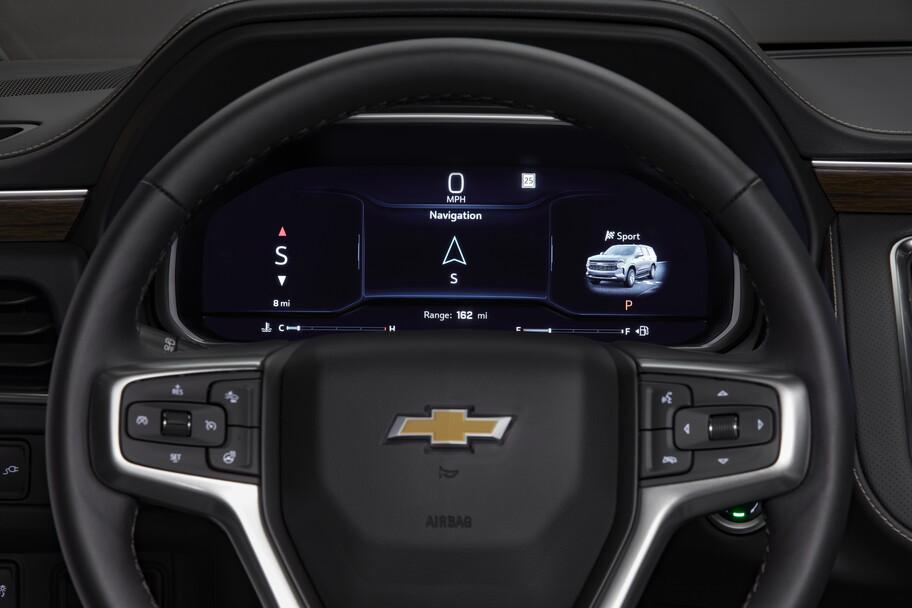Chevrolet Suburban 2022 y Tahoe 2022 mejoran en equipamiento, conducción y seguridad