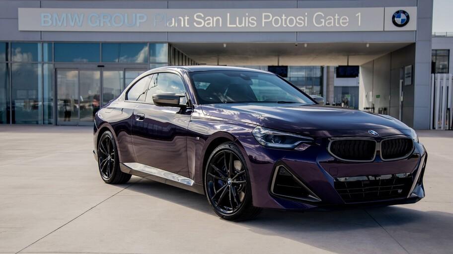 De México para el mundo, arranca la producción del nuevo BMW Serie 2 Coupé 2022 en San Luis Potosí