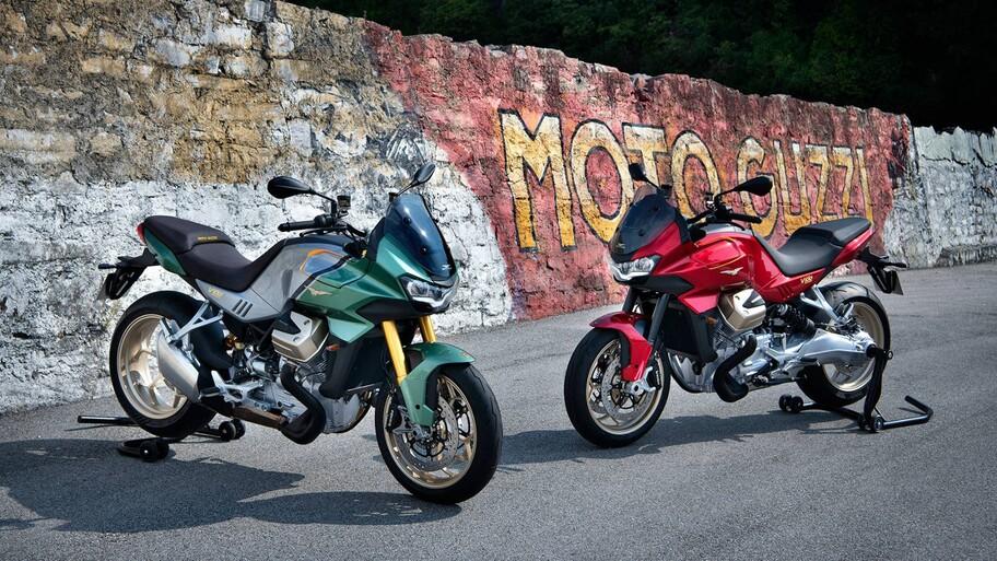 Moto Guzzi presenta la nueva V100 Mandello