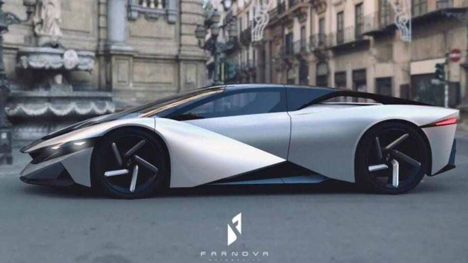 Farnova Othello es un hypercar eléctrico con más de 1,800 hp y 8,800 libras-pie de torque