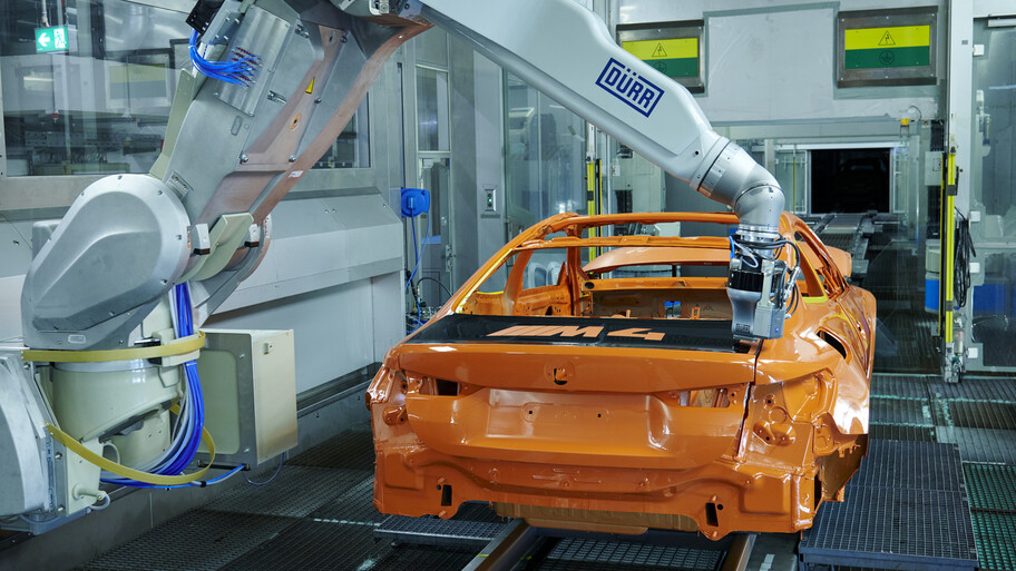 BMW implementa nueva tecnología en pintura
